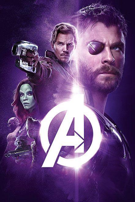 Avengers Infinity War Poster Hebat Avengers Infinity War Chris Hemsworth Thor Chris Pratt Peter