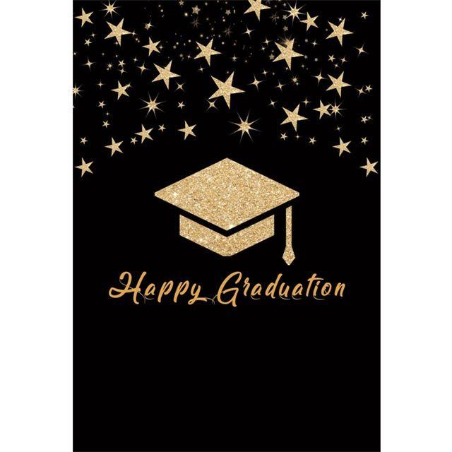 Background Untuk Poster Terbaik Laeacco Mahasiswa Selamat Wisuda Cap Bintang Poster Indah Mulus