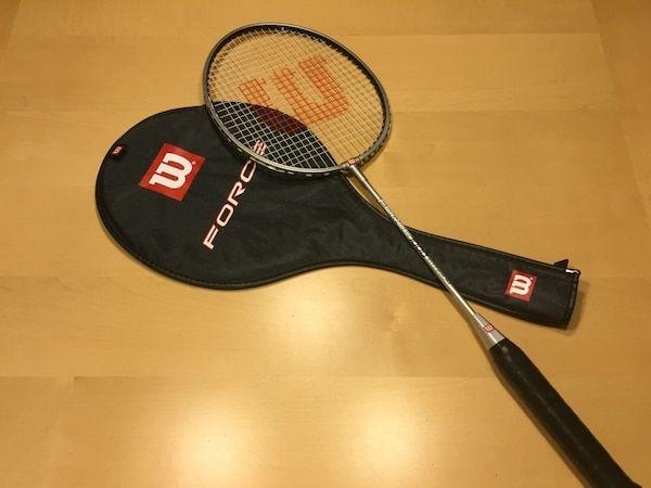 used wilson force 1000 titanium badminton racquet for sale in houston letgo
