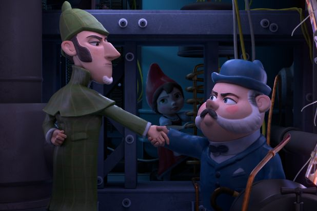 sherlock gnomes film review elementary sequel takes a teeny tiny step up