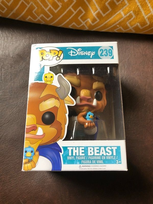 Beauty and the Beast Poster Hebat Used Five New In Box Disney Pop Funko Beauty the Beast Rogue