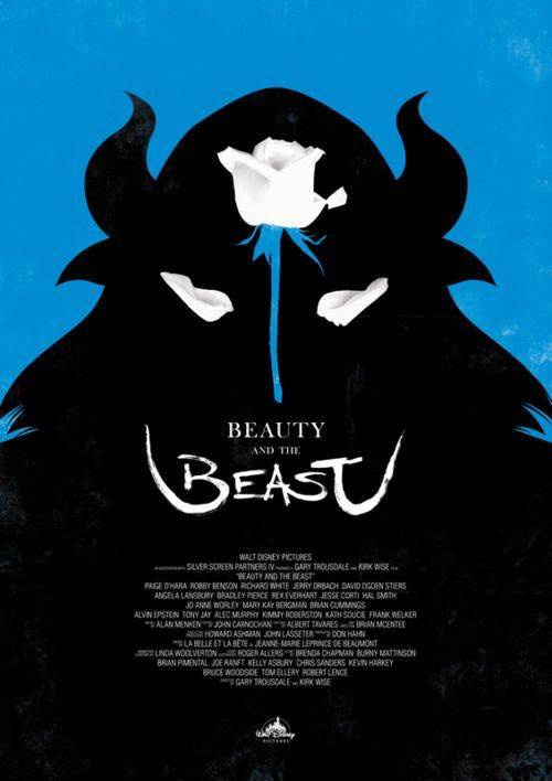 beauty and the beast what a cool poster