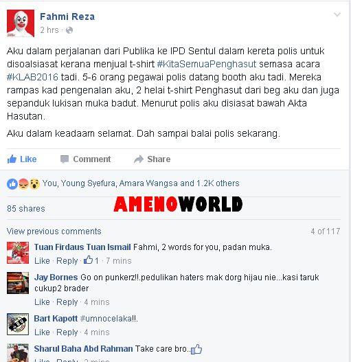 Bendera Negeri Di Malaysia Untuk Mewarna Baik D Untuk Diktator Pemuda Ini Sindir Mahathir Depan Depan Dan Kini