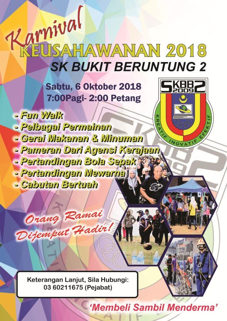 karnival keushawanan 2018 sk bukit beruntung 2