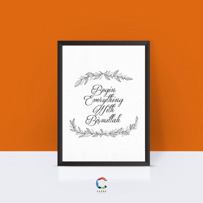 Bingkai Poster Berguna Jual Cadre Home Art Frame Bingkai Pigura Poster Begin