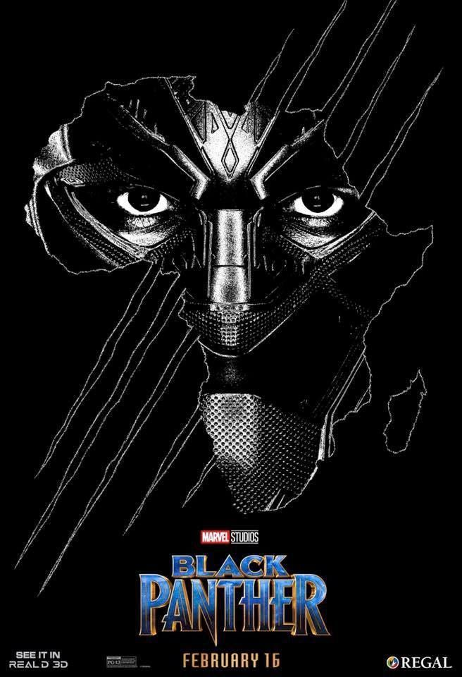 Black Panther Poster Menarik Black Panther 3d Regal Poster Mode Of Expression Black Panther