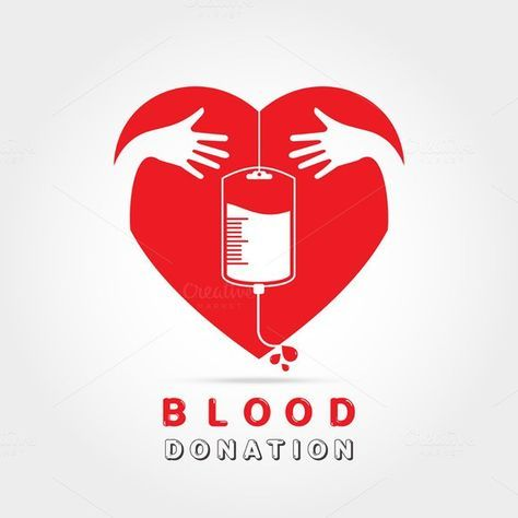 logotype blood donation 5 00