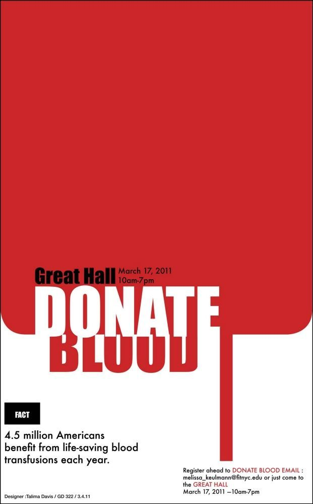 Blood Donation Poster Meletup the Donor Cable Clube Sangue Bom Videocase English