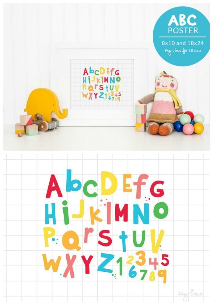 free abc poster perfect for the play room download on lilluna com
