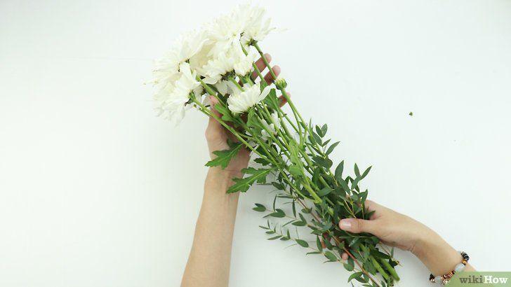 gambar berjudul dry flowers step 1