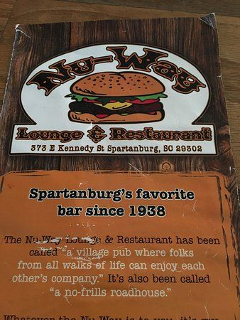 Burger Poster Baik Great Bar Picture Of Nu Way Spartanburg Tripadvisor