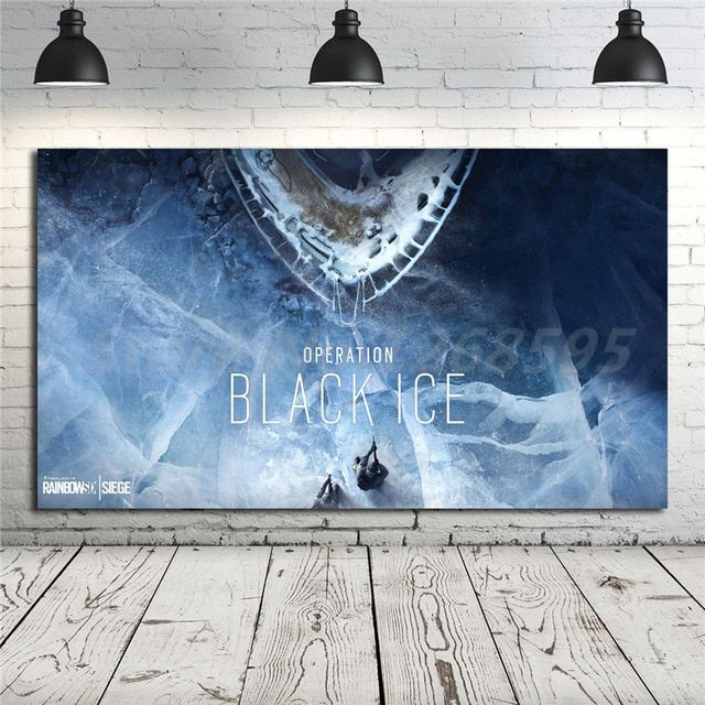 Canvas Poster Terbaik Rainbow Six Siege Operation Black Ice Hd Wallpaper Canvas Posters