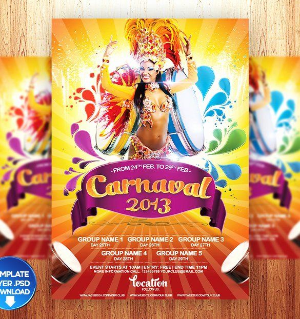 Carnival Poster Baik Circus Poster Template Free Download Best Of Carnival Flyer Template
