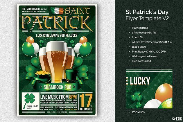 st patrick day flyer template free best poster templates 0d wallpapers 46 awesome poster templates
