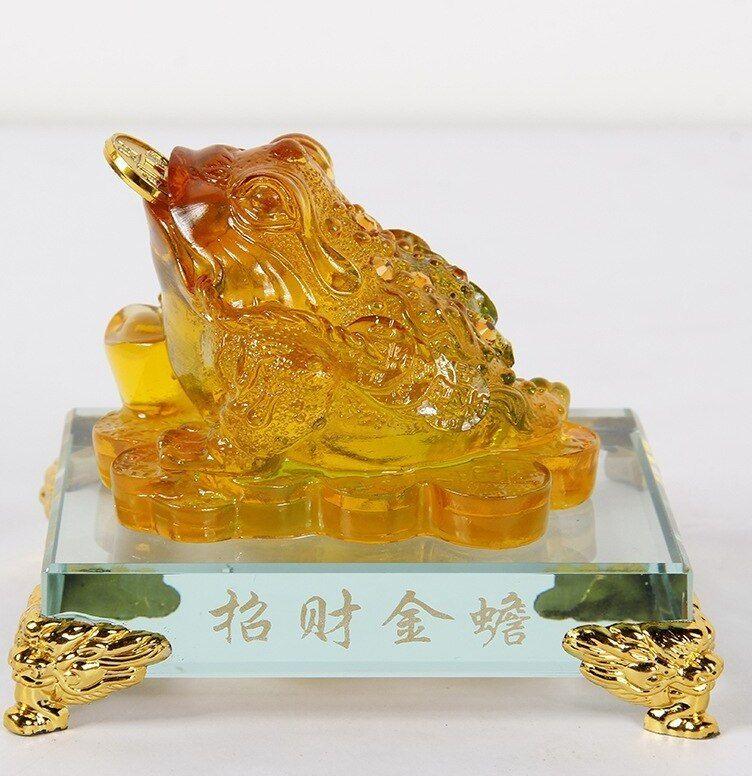 Contoh Lukisan Kertas Pembalut Hadiah Baik A Trumpet Pabrik Langsung Besar Menguntungkan Beruntung Kodok Resin