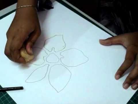 lukisan kertas pembalut hadiah berguna tutorial teknik resis dalam seni visual youtube