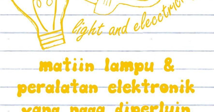 Contoh Poster Hemat Energi Hebat Poster Hemat Listrik Related Keywords Suggestions Poster Hemat