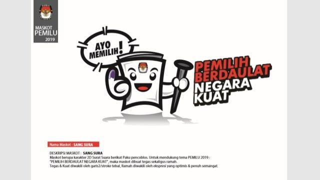 maskot pemilu 2019 sang sura kumparan com