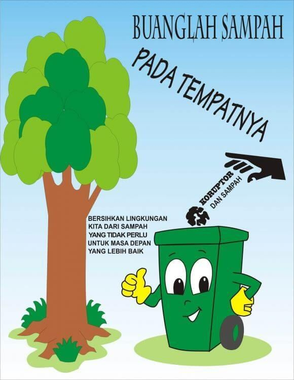 contoh poster kebersihan dimasfan com