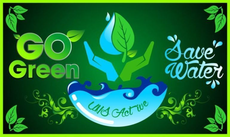 contoh poster go green