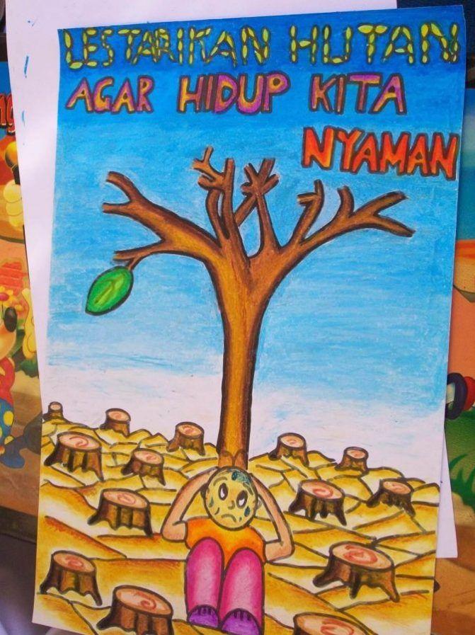 Download Contoh Poster Lingkungan Hidup Sekolah Yang ...