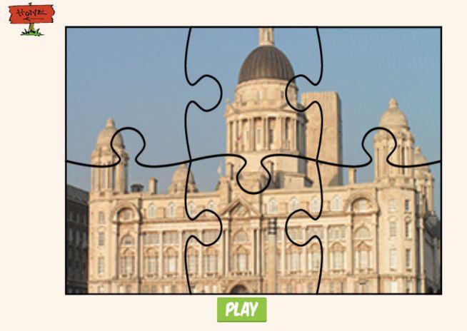 bangunan teka teki permainan tangkapan skrin 1