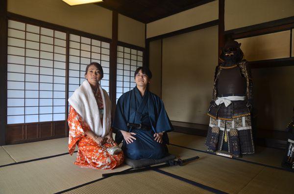 08 pengacara rosnani nasir mengenakan kimono dalam segmen bersama waris keturunan samurai di bandar sakura chiba