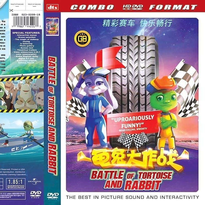 cific movie kaset dvd battle of tortoise and rabbit genre animation kualitas od