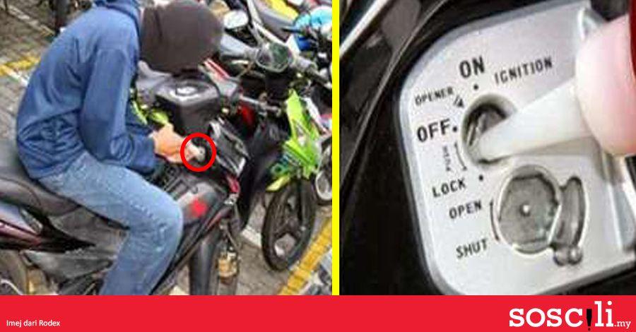 pencuri motosikal makin bijak cuba teka sehari berapa banyak motosikal hilang soscili