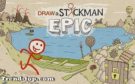 24 menggambar stickman epic