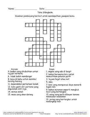 contoh teka teki budak sekolah rendah yang bermanfaat untuk para guru