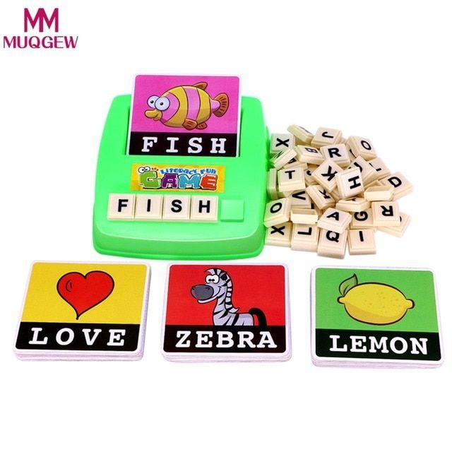 huruf alfabet gambar permainan ejaan inggris teka teki kata untuk anak literasi menyenangkan awal belajar