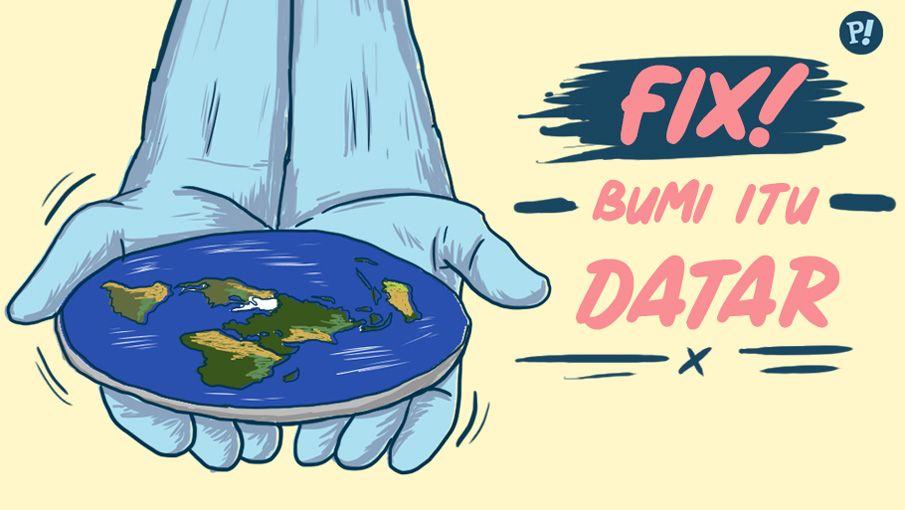 bumi itu datar provoke online