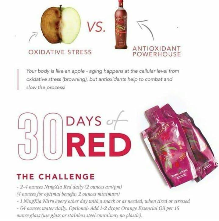 ningxia red antioksidan pernah potong buah epal perasan tak lepas beberapa minit isi epal