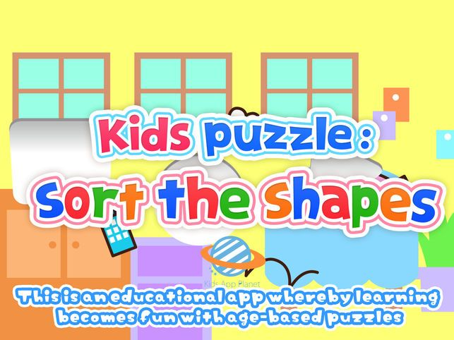 kids puzzle sort the shapes 2 di app store