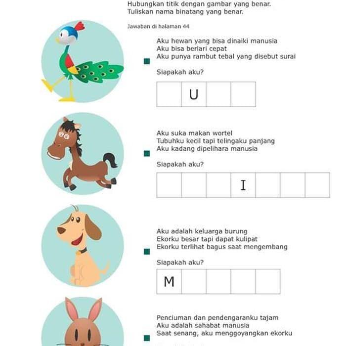 ac 008 aktivitas anak semua tentang binatang ebook buku digital