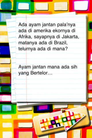 Contoh Teka Teki Indonesia Lucu Yang Bernilai Untuk Para Guru