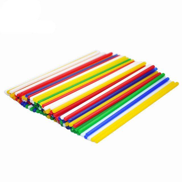 100 pcs bambu digital permainan 5 colrs diy kreatif tongkat anak anak usia dini mainan pembelajaran