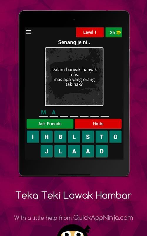 1 teka teki malaysia 2018 screenshot 2