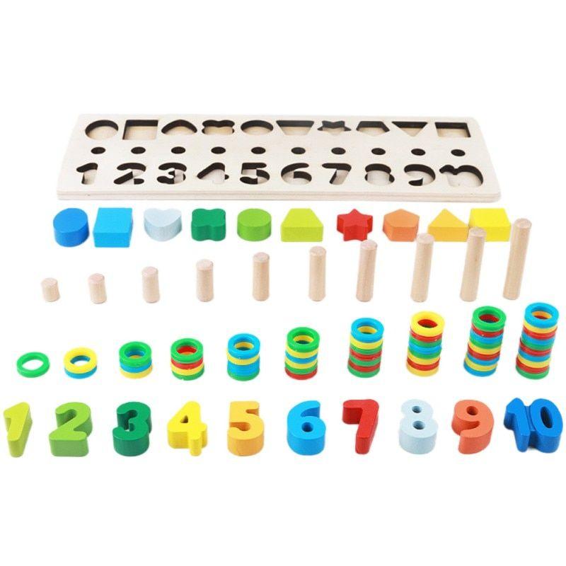 anak anak pendidikan mainan tk 2 6 tahun od teka teki pendidikan awal digital papan logaritma mainan di blok dari mainan hobi aliexpress com alibaba