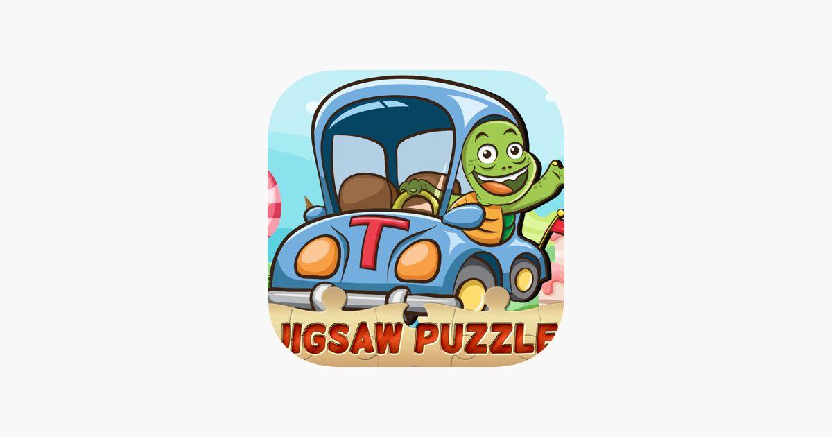 teka teki jigsaw kereta dan lori untuk mensasarkan di app store