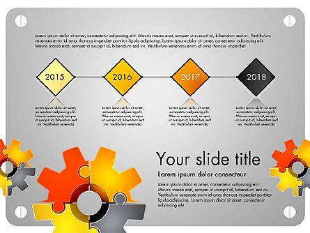 konsep presentasi teka teki kogwheel untuk presentasi powerpoint download sekarang 03510 poweredtemplate com