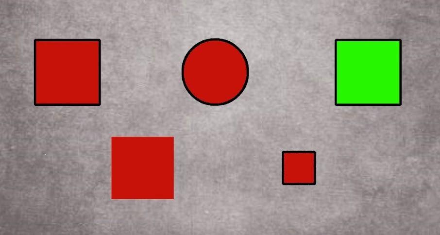 pada soal kali ini kalian akan melihat gambar disana terdapat 5 bentuk yang berbeda pertanyaannya pilih satu saja manakah bentuk yang aneh
