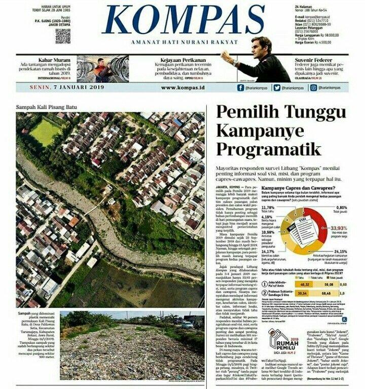 sampah kali pisang batu tarumajaya bekasi diangkat volume sampah capai 1 400 kubik