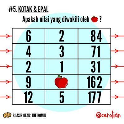 jawapan disediakan di bahagian bawah selepas semua soalan anda juga boleh kongsikan teka teki ini kepada