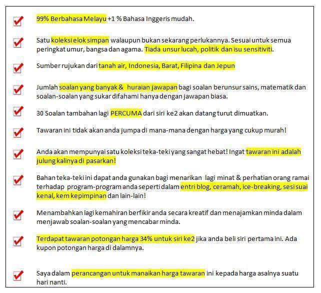 1000 soalan teka teki terbaik malaysia lengakap di dalamnya
