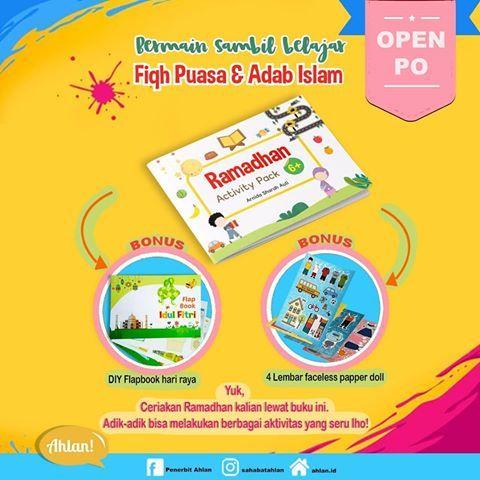 bismillah d ramadhan activity pack penulis ilustrator arnida sharah auli penerbit ahlan kids ramadhan activity
