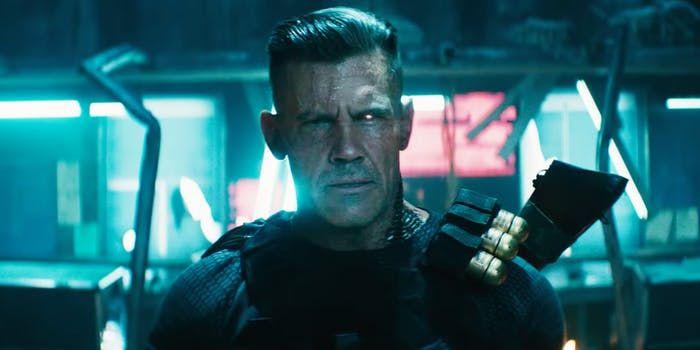 deadpool 2 trailer unleashes josh brolin as cable slams justice league