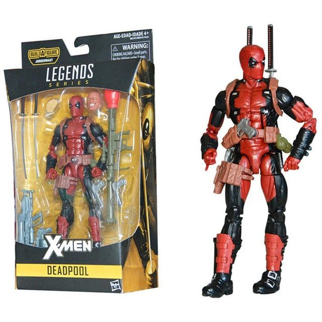 new marvel x men super hero deadpool 2 spiderman legends series action figure with retail box