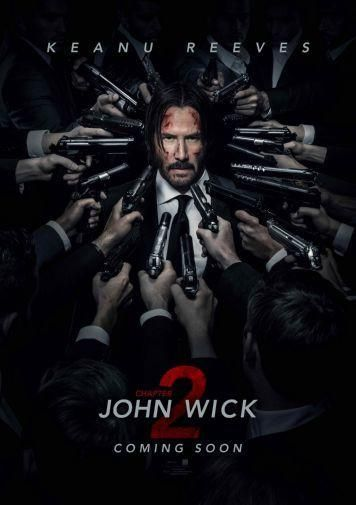 john wick 2 poster 24x36 movie i like to watch over and over john wick movie movies online john wick 2 movie